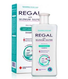 REGAL DIEP REINIGENDE ANTI-ROOS Shampoo met Selenium Sulfide voor Normaal -en Vet Haar 200ml
