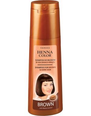 HENNA COLOR Shampoo BROWN 250ml